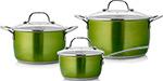 Набор посуды  Esprado  Emerald , 6 пр., нерж. сталь