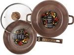 Набор посуды  Panairo  Barbara MAX №2 из 3-х предметов BA-2-NAB-I