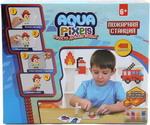 Товар для творчества  1 Toy  Aqua Pixels, квадрат. детали, 480 дет ``Пожарная станция`` Т13071