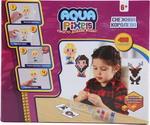 Товар для творчества  1 Toy  Aqua Pixels, квадрат. детали, 480 дет ``Снежная королева `` Т13075