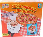 Настольная развивающая и обучающая игра  1 Toy  ИГРОДРОМ ``Неуловимая пицца`` Т13552