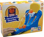 Настольная развивающая и обучающая игра  1 Toy  ИГРОДРОМ ``Настольный баскетбол`` Т10823