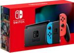 Игровая приставка  Nintendo  Switch неоновый синий / неоновый красный
