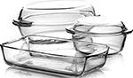 Набор посуды для СВЧ-печей  Pasabahce Borcam  Sets 5 предметов