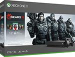 Игровая приставка  Microsoft  Xbox One X с 1 ТБ памяти и играми Gears 5 Ultimate-издание Gears of War Gears of War 2, 3 и 4