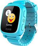 Детские часы с GPS поиском  Elari  KidPhone 2 (голубые) ELKP2BLURUS