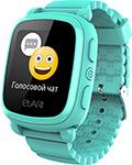 Детские часы с GPS поиском  Elari  KidPhone 2 зеленые ELKP2GRNRUS
