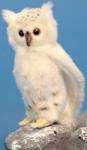 Мягкая игрушка  Hansa Creation  6155 Сова белая, 18 см