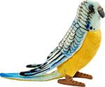 Мягкая игрушка  Hansa Creation  4653П Попугай волнистый голубой, 15 см
