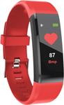 Умные часы и браслет  Qumann  QSB 11 Red