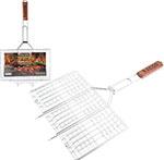 Приспособление для барбекю и шашлыка  Ecos  BASIC трехсекционная, 999636