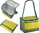 Сумка-холодильник  Ecos  ML71-10L (~10 литров), желто-зеленая, 005041