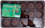 Емкость для растений  Park  15 ячеек (1 вставка*15ячеек), с торфяными таблетками, 183861