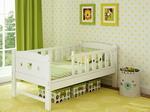 Детская кроватка  Giovanni  DREAM White 160*80см, GB1084NR