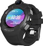 Детские часы с GPS поиском  JET  KID GEAR черный серый