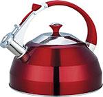 Чайник  KORALL  GreenTOP GS-04156FY 3 л со свистком нерж. красный