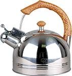 Чайник  KORALL  GreenVill GS-04012HY-4.5L нерж. 4.5л со свистком, стальной цвет