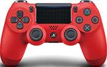 Руль, джойстик, геймпад  Sony  Dualshock4v2 (CUH-ZCT2E), красный