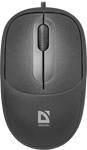 Мышь компьютерная и клавиатура  Defender  Datum MS-980 черный,3 кнопки,1000dpi (52980)
