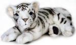 Мягкая игрушка  Hansa Creation  5337 Белый тигренок лежащий, 26 см