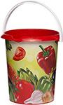 Ведро  Альтернатива  ``Овощи`` 5 л без крышки M6381