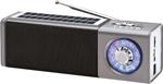 Радиоприемник и радиочасы  MAX  MR-400 Серебро