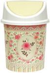 Товар для дома  Виолет  с подвижной крышкой 4л с декором ``Чайная роза`` 140465