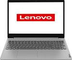 Ноутбук  Lenovo  IdeaPad L3 15IML05 (81Y3001KRK) серый