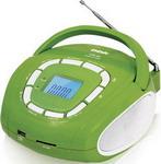 Магнитола  BBK  BS05 светло-зеленый/серебро