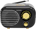 Радиоприемник и радиочасы  Telefunken  TF-1682UB (черный с золотым)