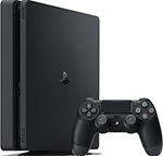 Игровая приставка  Sony  PlayStation 4 1TB Black + Days Gone/God Of War/The Last of Us/PS+3M (CUH-2208B)