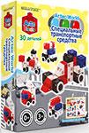 Конструктор  Знаток  ARTEC World ``Специальные транспортные средства`` коробка 30 дет. 15-2344-ART