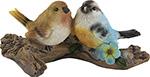 Фигурка и подставка  Park  Птицы на бревнышке 169301