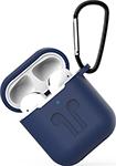 Наушники  Eva  для наушников Apple AirPods 1/2 с карабином - Темно-Синий (CBAP01DBL)