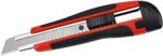 Режущий и пильный инструмент  AV Steel  с прорезиненной ручкой 18мм AV-900518
