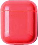 Наушники  Eva  Apple AirPods 1/2 - Прозрачно-Красный (CBAP24TRR)