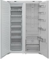 Встраиваемый холодильник Side by Side  Scandilux  SBSBI 524EZ (RBI 524EZ+FNBI 524E)