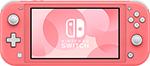 Игровая приставка  Nintendo  Switch Lite кораллово-розовый