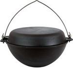 Мангал, казан и тандыр  Добрыня  DO-3356 5 л 28 см с крышкой-сковородой и дужкой