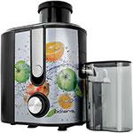 Соковыжималка универсальная  Polaris  PEA 0829 Fruit Fusion, нерж.сталь/чёрный