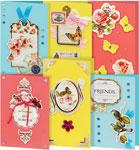Товар для творчества  Белоснежка  224-SB Набор для создания 6-ти открыток ``Реверанс``