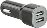 Зарядное устройствo для мобильных телефонов, планшетов, ноутбуков  Red Line  Lite 2 USB (модель AC-1A), 1A черный