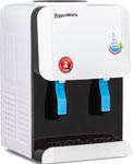 Кулер для воды  Aqua Work  AW 105 TWR (бело-черный), без нагрева и охл.