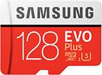 Карта памяти  Samsung  microSDXC 128Gb Class10 EVO+ с адаптером MB-MC128HA/RU