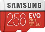 Карта памяти  Samsung  microSDXC 256Gb Class10 EVO+ с адаптером MB-MC256HA/RU