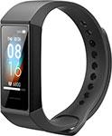 Умные часы и браслет  Xiaomi  Mi Smart Band 4C (черный)