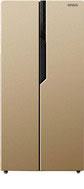 Холодильник Side by Side  Ginzzu  NFK-420 золотистый