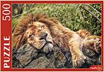 Настольная развивающая и обучающая игра  Рыжий кот  500 элементов. СПЯЩИЙ ЛЕВ ГИП500-0622