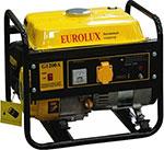 Электрический генератор и электростанция  Eurolux  G1200A желто-черный