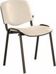Офисное кресло  Brabix  ``Iso CF-005``, черный каркас, кожзам бежевый, 531978